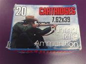 Bulk Ammunition 7.62X39 123G FMJ